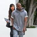 Hot Pullover Jersey Kanye West Short Sleeves Unbalance Hoodies Hip Hop Streetwear Hooded Hoody Casual Sweatshirts For Man