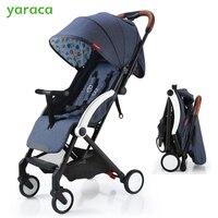 Детские Коляски складной коляски 5 кг легкий коляски для новорожденных комфортных для корзину для путешествий с сидя и лежать режимов