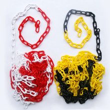 plastic chain catena plastica cadena de plastico red white yellow black 5M/LOT free shipping