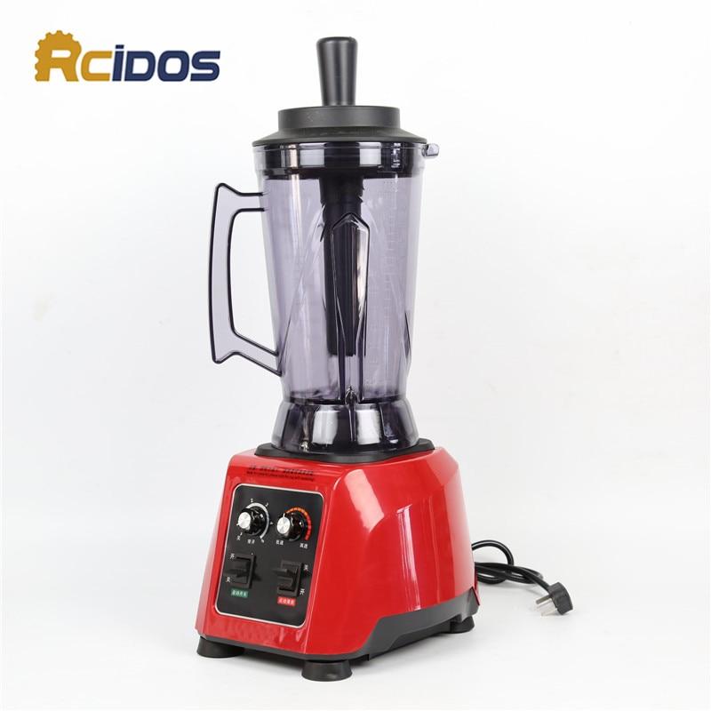 TM-888A RCIDOS 4L 2500W Commercial professional blender,vegetable/fruit squeezers& Reamers Sand <font><b>ice</b></font> machine/Soymilk Jucier <font><b>maker</b></font>