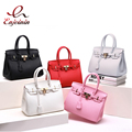 Hot fashion classic design locks platinum package candy color elegant lady women's handbag shoulder bag messenger bag 6colors