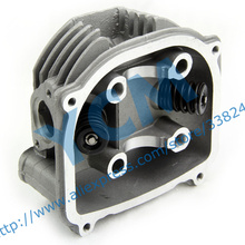 EUI GY6 150cc Cylinder Head Assembly Diameter 57 4mm with Valves for Chinese Scooter Moped Installed