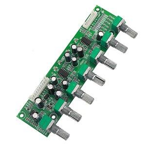 Image 4 - GHXAMP 5.1 préamplificateur tonalité canal indépendant Volume + réglage de fréquence basse 6 voies pour 5.1 amplificateur bricolage DC12 24V nouveau