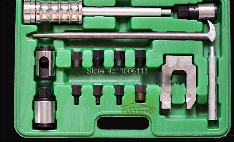 diesel common rail injectors disassemble tool for all cars trucks, common rail injector nozzle puller tool for BOSCCH CUMMINNS