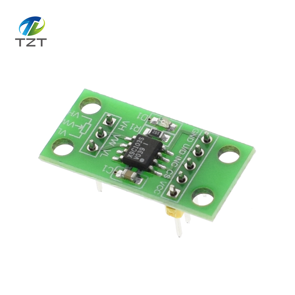X9c103s Digital Potentiometer Board Module Dc3v 5v For Arduino In Amplifier With The Controlled By Uno 1 2