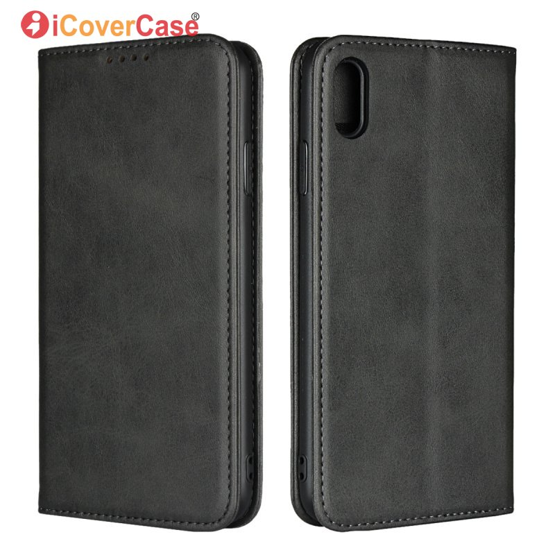 Leather Flip Cover For iPhone XS XR X S Max Magnetic Cases Wallet Soft Back Cover For Appl