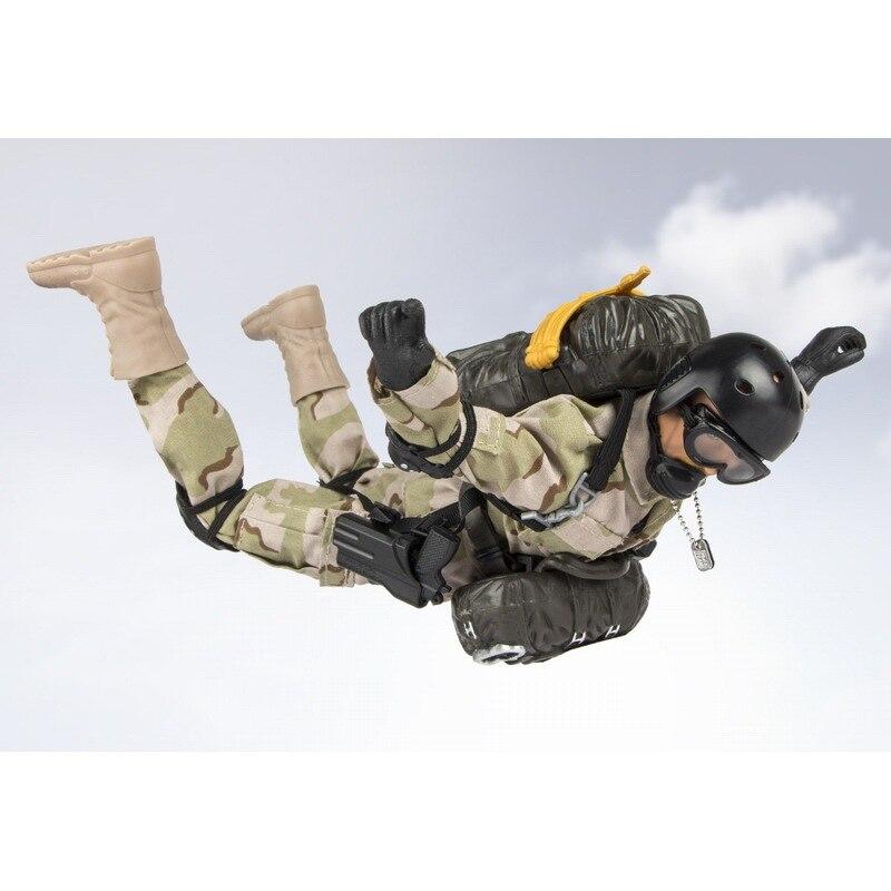 Figuras de acción del soldado de la paz del mundo 1/6 figuras de acción del modelo militar de juguete figura de anime juguetes para niños