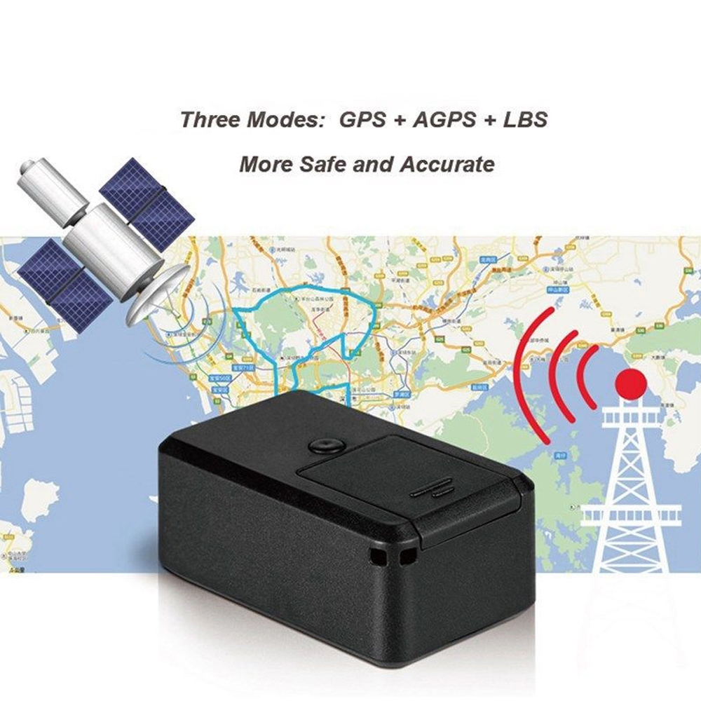 The Aged GF-19 Mini GPS Tracker APP Control Anti-Theft Device Locator Magnetic Voice Recorder For Vehicle/Car/Person Location
