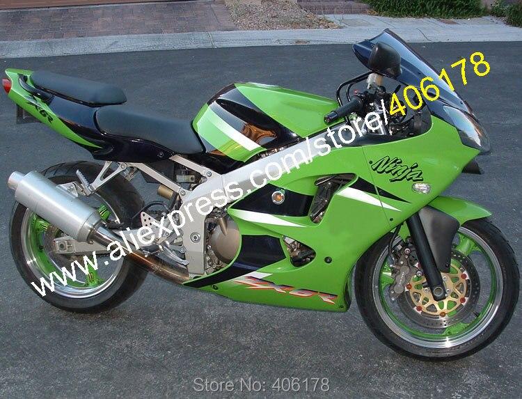 Hot Sales,For Kawasaki NINJA ZX6R 2000 2001 2002 ZX 6R ZX-6R ZX 6 R 636 ZX636 ZX-636 Green Black Fairing Kit (Injection molding) original fuel pump oem uc t35 kawasaki 636 zx 6r zx 10r zzr1400 zx 14r