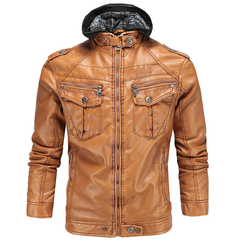 MOTOGP Leather Jackets KTM mode Fleece warm Motocycle leather jackets Racing Off Road Race winter Clothing Leisure Antique Coat