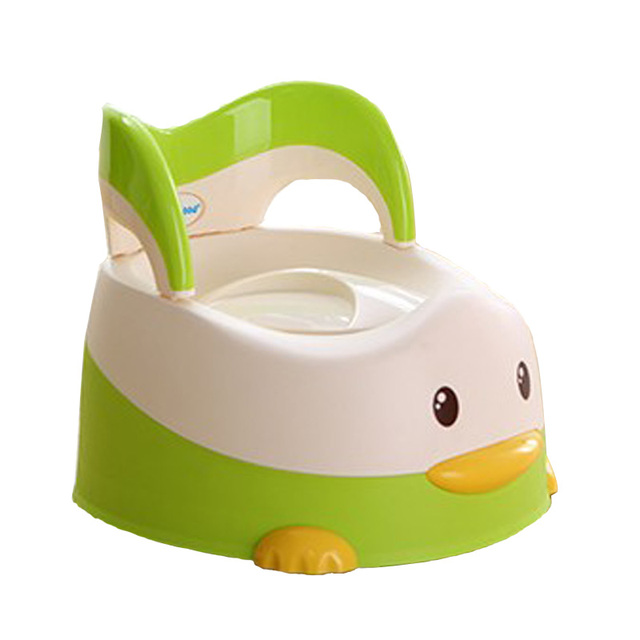 eb0cea54d29 New Child Toilet Seat Cartoon Duck Plastic Baby Toilet Training Girls Boy Potty  Chair Portable Kids Pot Children s WC Baby Potty