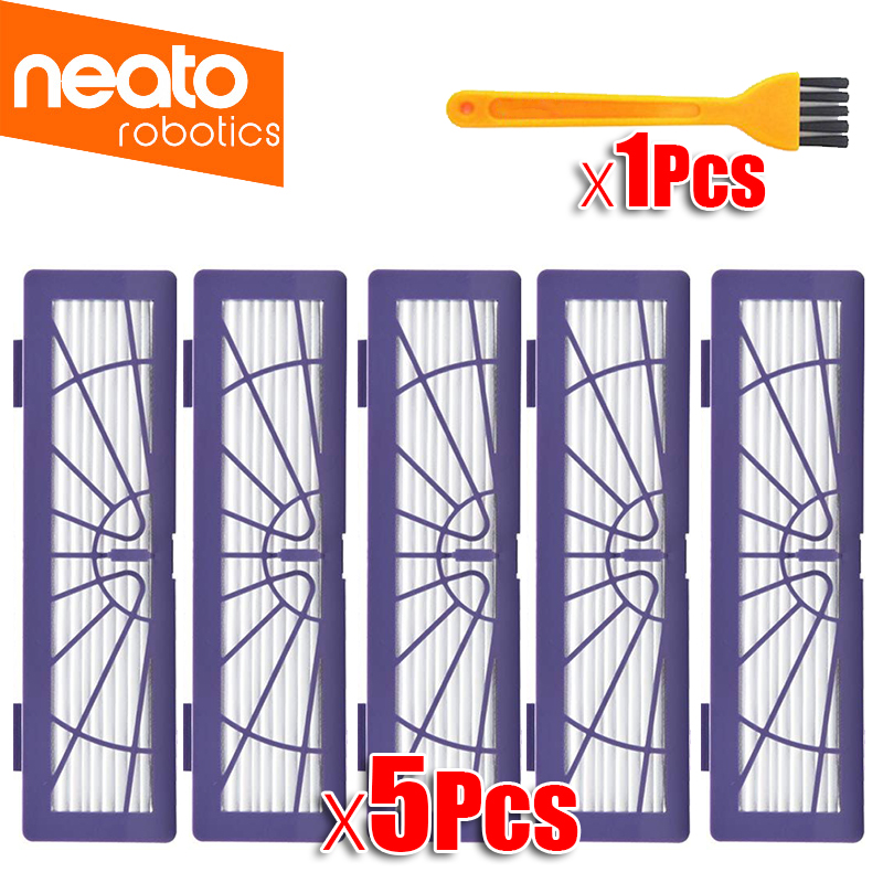 Replacement HEPA Dust Filter Brush For Neato BotVac 70e,75 80 85 Series D5 Robotic Vacuum Cleaners Robot Parts