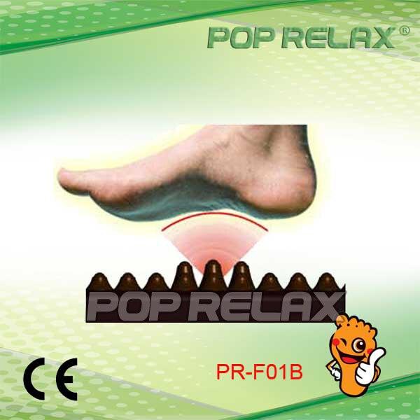 POP RELAX Tourmaline foot relax massager health mat second heart PR-F01B POP RELAX pop relax negative ion magnetic therapy tourmaline mat pr c06a 55x120cm ce