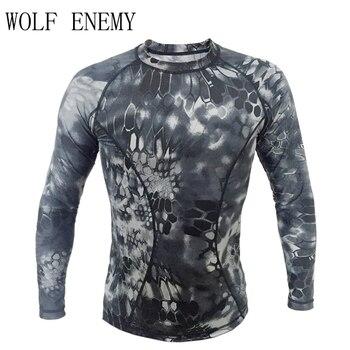 171aab24803 Мандрагоры легкий с длинным рукавом рубашки Tactical туго сжатия армии  Рубашка летняя футболка