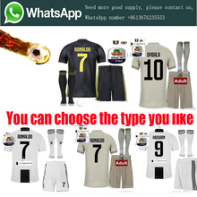 966b697395d 2018 Serie A patch Quality RONALDO JUVENTUSES Soccer Jerseys kit+sock 18/19  JUVE