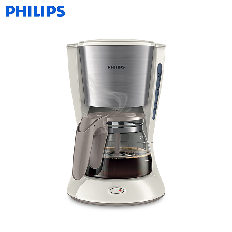 Coffeemaker Philips HD7436/00 drip coffee maker home intelligent fully automatic american style coffee machine drip type small is grinding ice cream teapot one machine