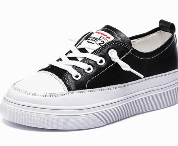Sport Voyage Noir blanc Nouveau Sauvage Non Loisirs Plat Respirant 2018 Chaussures slip Automne PzqfwwI