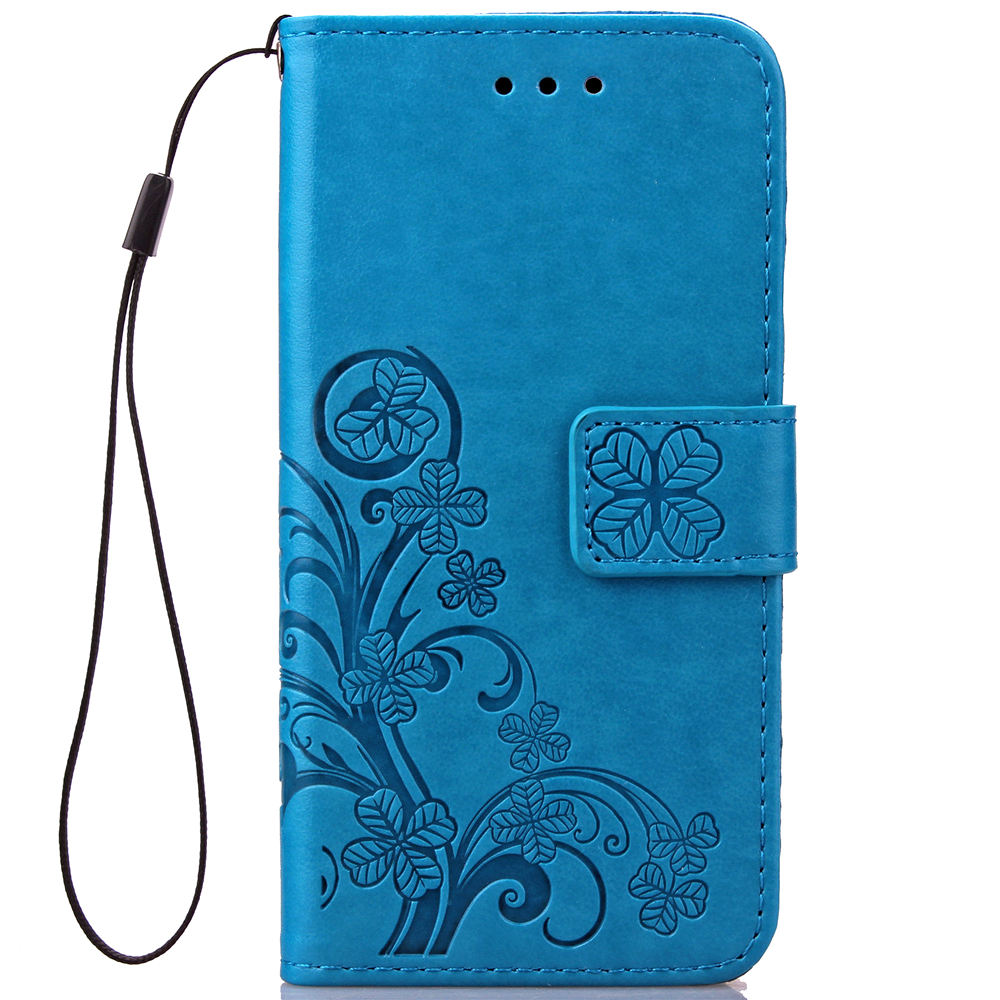 Funda clover book case for samsung galaxy note 3 4 5 pu for Housse telephone samsung galaxy note 3