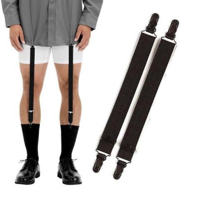 bf7b43745 Men Women New Harajuku Handmade Punk garters belt high Elastic Spandex  Stocking Suspender Gourd buckle clip black