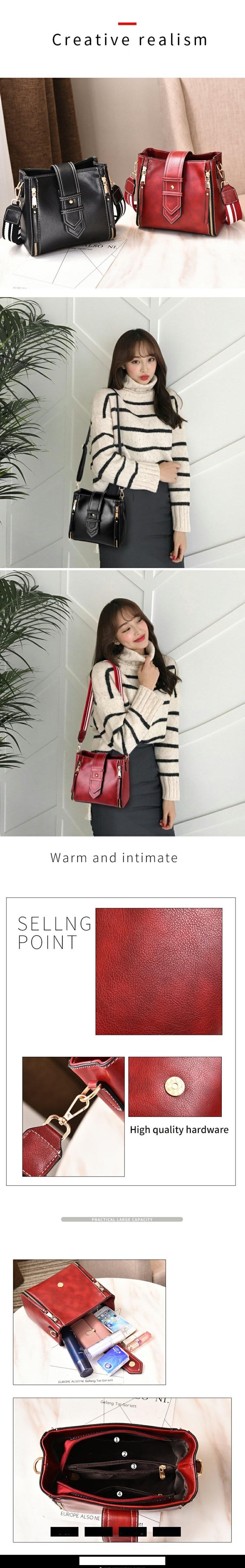 WERAIMJX Mode Tas untuk Wanita 2018 wanita yang Murah Tas Flap Zipper Bahu Tas Bolsos Mujer Utusan Tas untuk Wanita MJ232