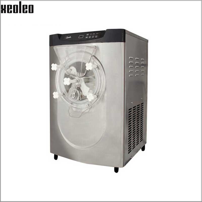 Xeoleo Commercial Professional Hard Ice Cream Maker 10-14L/H Ice Cream Machine 1.25HP 1000W Compressor R22 Refrigerate