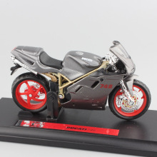 1:18 scale brand ducat 748 Sport bike street motorbike metal engine diecast sport racing motorcycle model car toys for boys