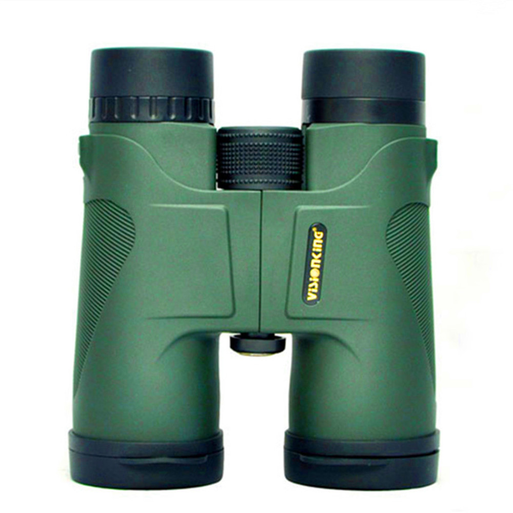 Visionking High Quality 10x42 Hunting Binoculars Waterproof Telescope Green and Black Binoculars Prismaticos De Caza Binoculars projector lamp bulb et laf100 etlaf100 laf100 for panasonic pt fw300ntea pt fw300ea pt fw430 pt fx400 pt f300 with housing