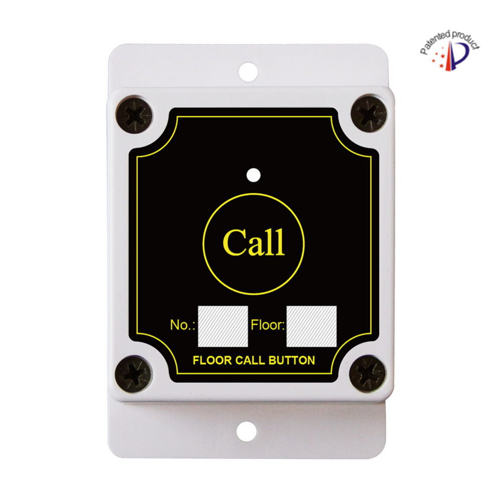 Строительные сайт эксклюзивный кнопку вызова, водонепроницаемый, пыленепроницаемый, беспроводной пол звонок, лифт пол беспроводной зуммер