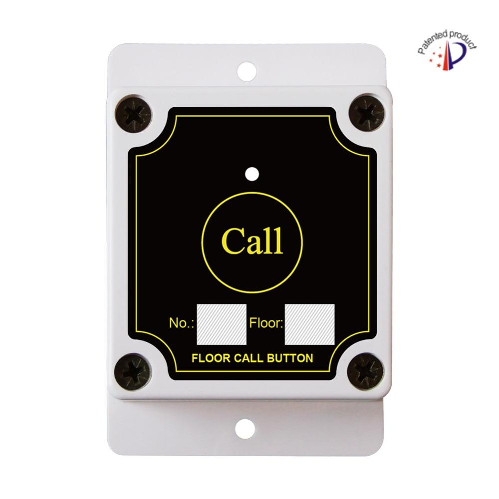 Building/construction site exclusive call button, waterproof,dustproof,wireless floor call bell, elevator floor wireless buzzer