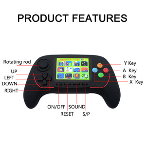 Image 5 - Portable Handheld Game Console Built in Classic Games 16 Bit HD Joystick Game Console Bluetooth 2.4G Online Combat For Children