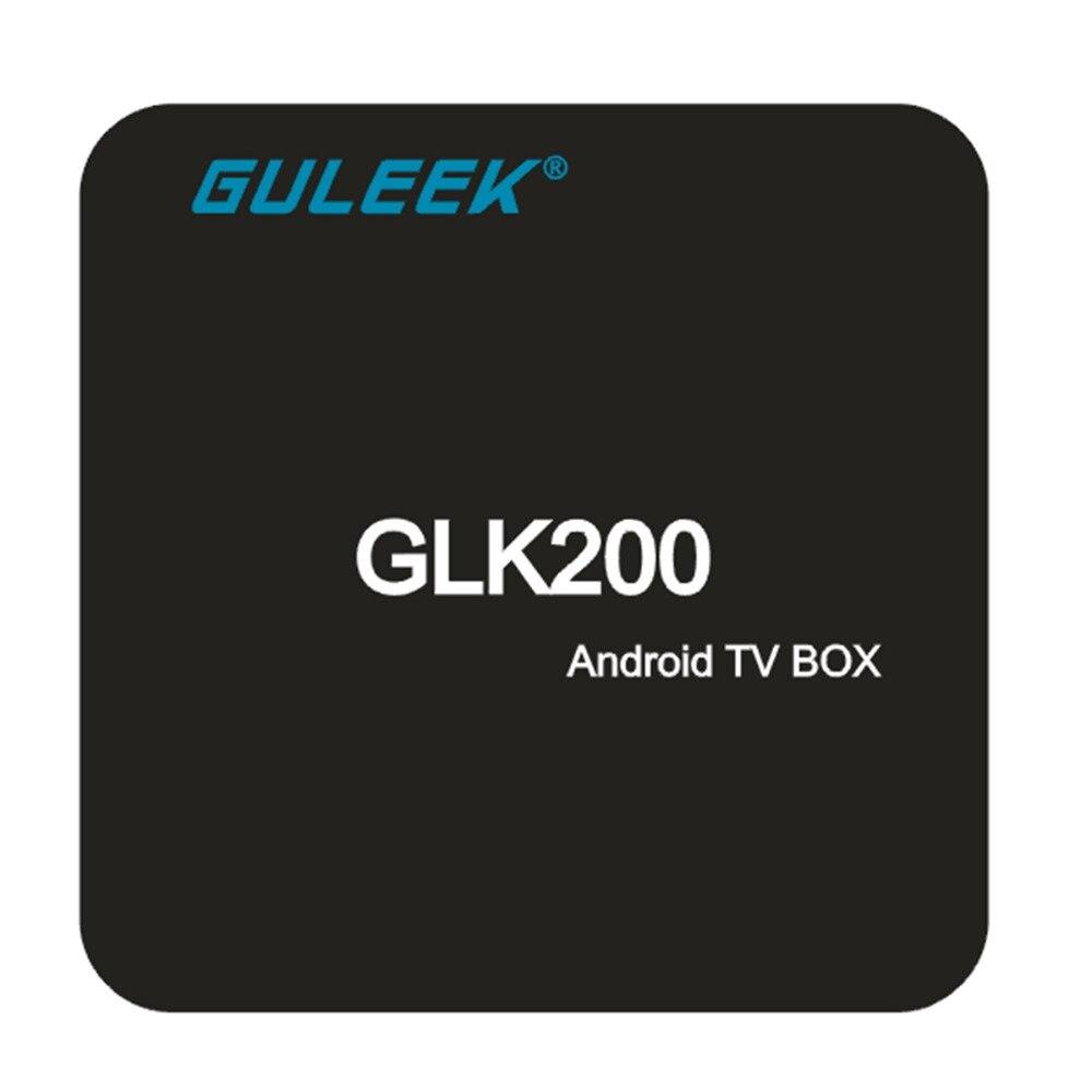GULEEK GLK200 Wifi TV Smart Android 6 0 Tv Box with Amlogic S905x Quad Core 64bit