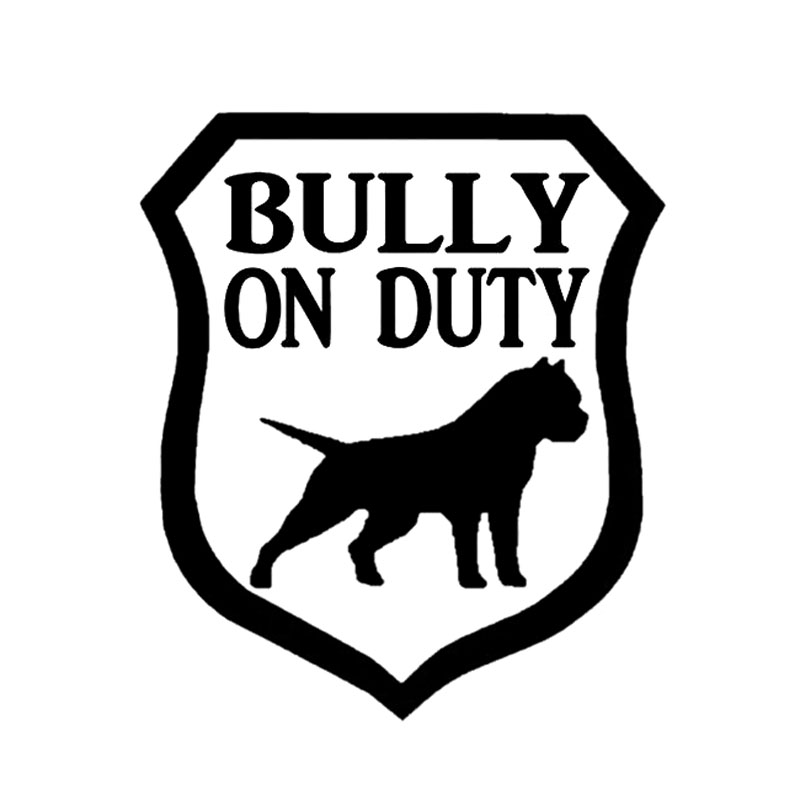 Detail Feedback Questions About Yjzt 15 2cm17 6cm Bully On Duty Dog