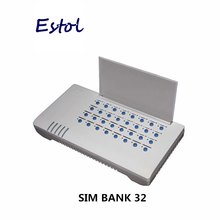 DBL SIM Bank SMB32 Server,32 ซิมการ์ด SMB32 REMOTE ซิมการ์ดจัดการ,จำลอง DBL GoIP (Auto IMEI เปลี่ยนได้ + Auto SIM หมุน)