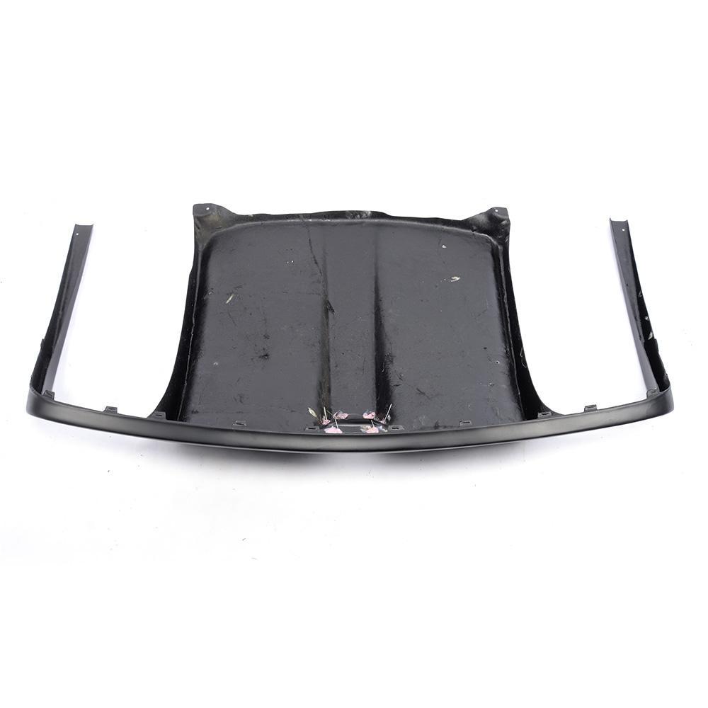 Carbon Fiber / FRP Black Car Bagkofanger diffuser Lip Spoiler - Bilreservedele - Foto 4