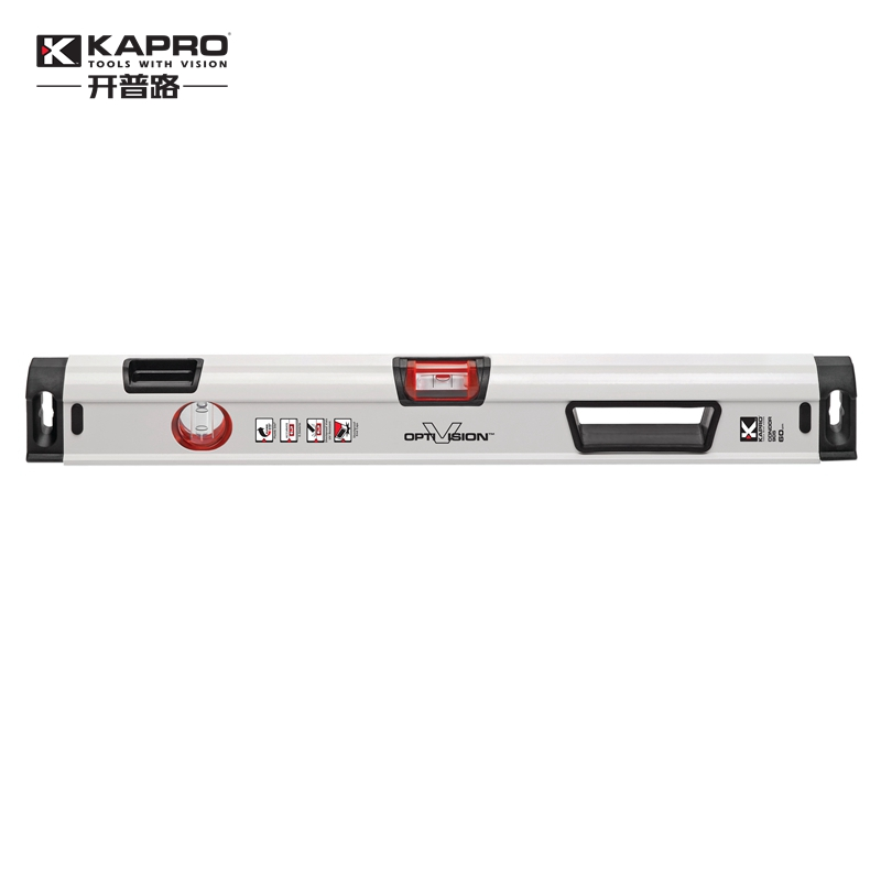 KAPRO High precision level measuring instrument with magnetic level aluminum alloy Level bubble kapro clamp type high precision infrared light level laser level line marking the investment line