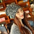 Новое поступление 2 использование шапочка вязаный шарф и зимние для женщин письмо шапочки вальм - горячие Skullies девушки Gorros женщины шапочки