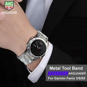 Image 3 - Reloj Samsung Galaxy 46mm Gear S3 reloj último modelo Correa pulsera reloj banda para Garmin Fenix 3 hr 5x herramientas de destornillador