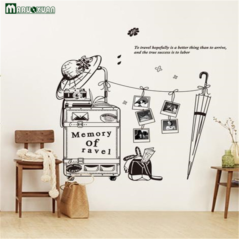 Wall Stickers Home Decor And Travel Meaning Personality