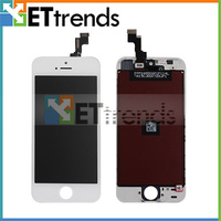 LCD Complete Original For IPhone 5S LCD With Touch Screen Digitizer Assembly Frame Free Shipping 30pcs