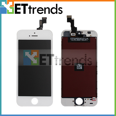 LCD Complete Original For iPhone 5S LCD With Touch Screen Digitizer Assembly + Frame Free Shipping 30pcs/Lot Great Quality