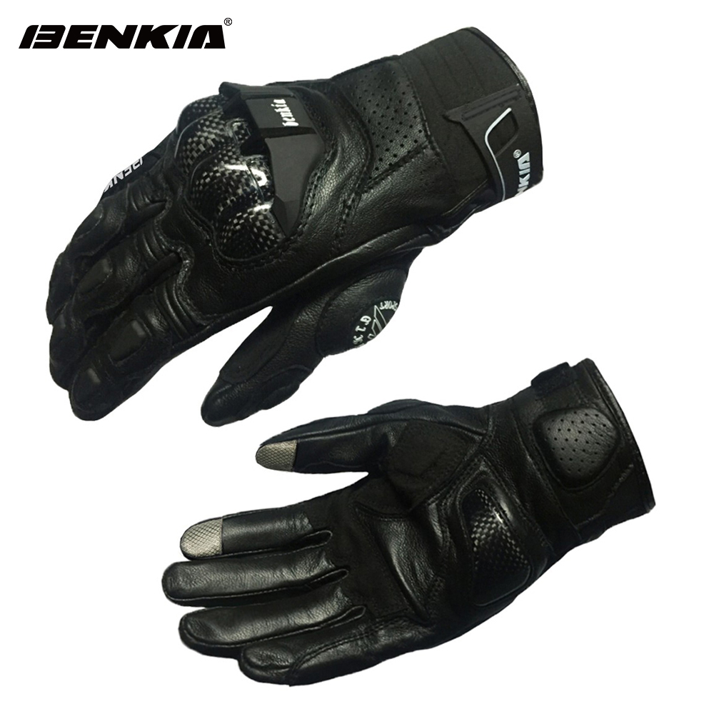 BENKIA Men Motorcycle Gloves Motocross Racing Leather  Gloves Touch Screen Moto Racing Motorbike Guantes Luvas,Black/Yellow карл фон клаузевиц принципы ведения войны