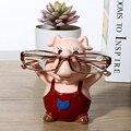 Милый Поросенок Животных Очки Стенд Смола Ремесла Прекрасный Очки Солнцезащитные Очки Стенд Держатель Стойки Животных Home Decor Лучший Подарок