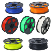 High Quality 3D Printer Filament 1KG ABS PLA 1 75mm Plastic Rod Ribbon Consumable Material Refills