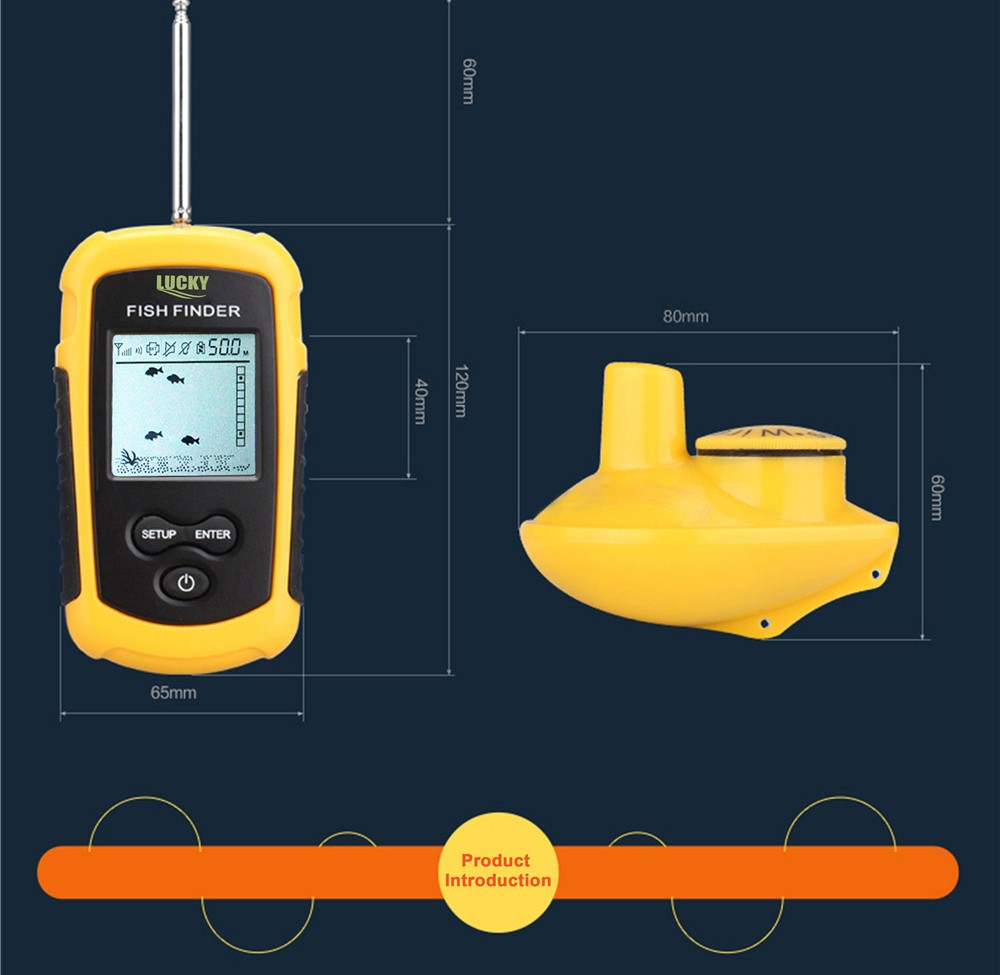 para detector radar FFW1108-1 fishfinder