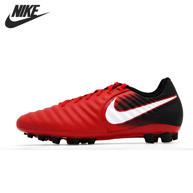 Original New Arrival 2017 NIKE TIEMPO LIGERA IV AG-R Men's Football Shoes  Sneakers