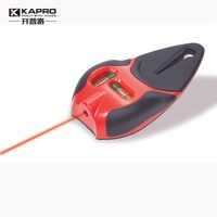 KAPRO High Precision Infrared Level Line Laser Electronic Laser Bubble with Nail Screw Grip and Magnetic Wrist Strap