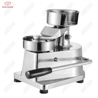 HF Series manual handhold hamburger maker making machine Stainless steel for restaurant KFC McDonald's fast food shop