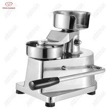 HF Series manual handhold hamburger maker making machine Stainless steel for restaurant KFC McDonald's fast food shop(China)