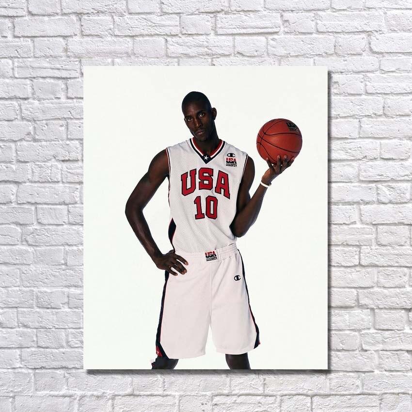 Célèbre basket-ball Star peinture sur toile photos murales pour chambre peint à la main moderne peinture à l'huile offre spéciale sans cadre