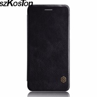 High Quality Case Vintage Flip PU Leather Hard Plastic Cover For One Plus 5 Back Cover